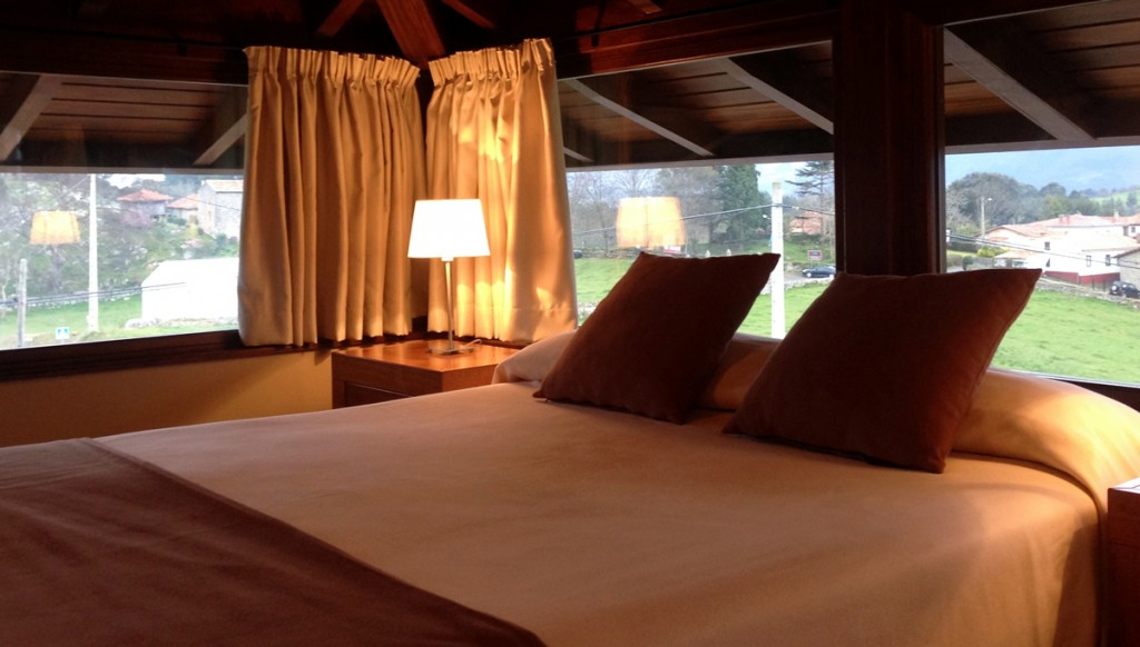 cama alojamiento ribadesella