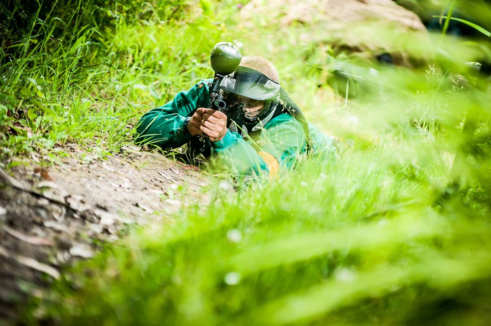 paintball aventura en Asturias