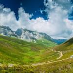 picos de europa, vistas de nuestros todoterreno en la ruta