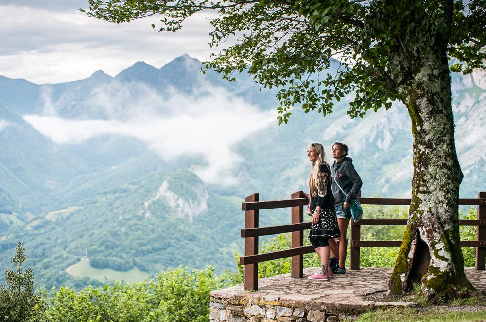 vistas rutas 4x4 por los Picos de Europa